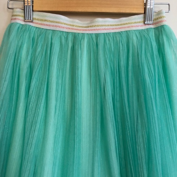 14a48defe3 kate spade Bottoms   Teal Sparkle Tulle Skirt Kids Size 14   Poshmark